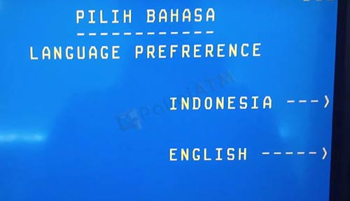 2. Pilih Bahasa
