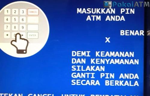 3. Masukkan PIN ATM 2