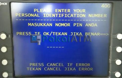 3. Masukkan PIN ATM 5