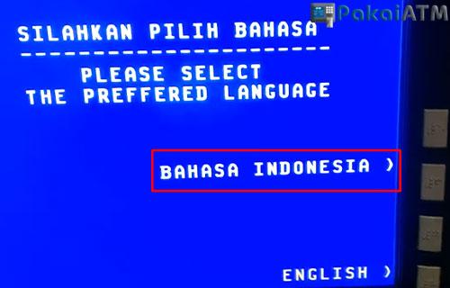 3. Pilih Bahasa Indonesia