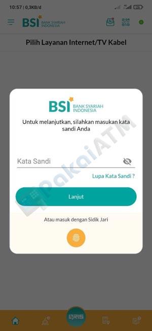 4. Input Kata Sandi Password