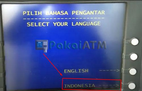 4. Pilih Bahasa Indonesia