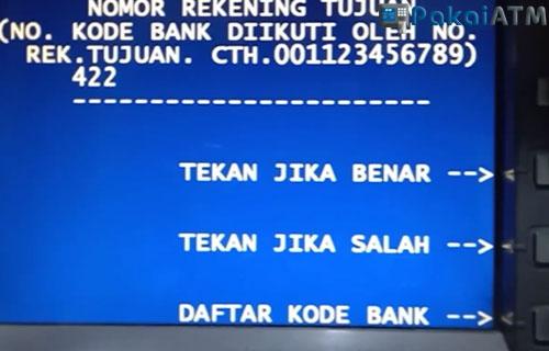 7. Input Kode Bank No. Rekening BRIS