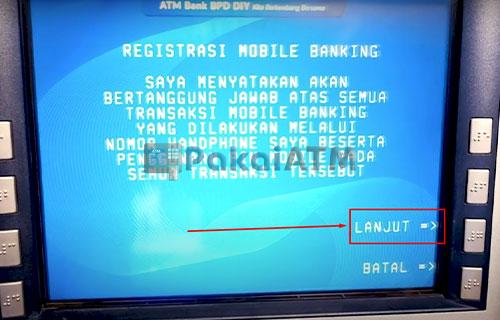 8. Registrasi Mobile Banking