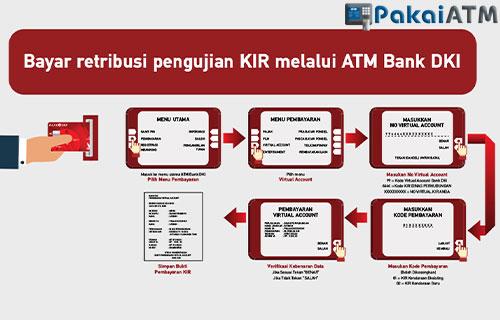 Bayar KIR Online via ATM DKI
