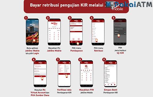Bayar KIR Online via JakOne DKI