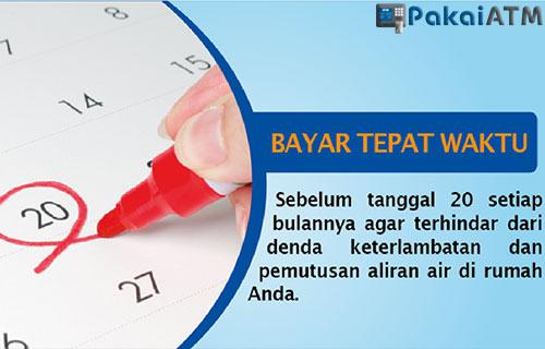 Jatuh Tempo Bayar PDAM 2