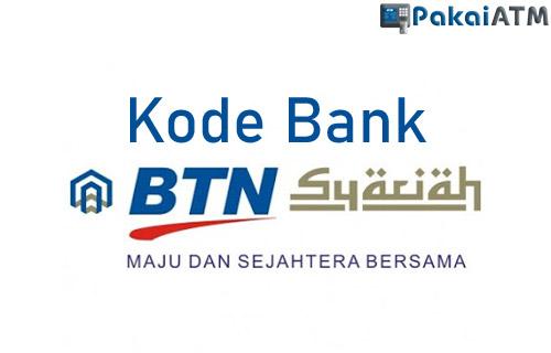 Kode Bank BTN Syariah