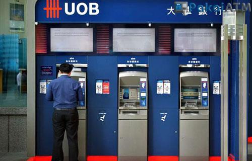 1. Cek Saldo UOB via ATM