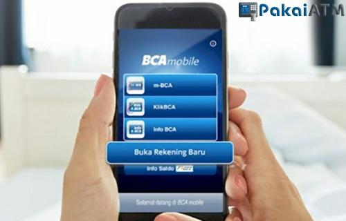 1. Lewat BCA Mobile