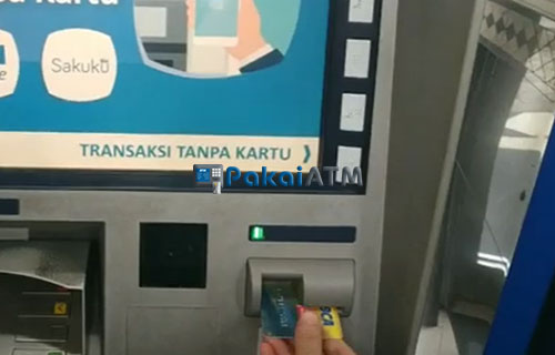 2. Masukkan Kartu ATM 2