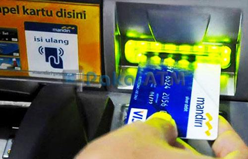 2. Masukkan Kartu ATM