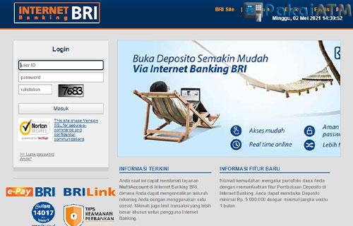 3. Blokir Lewat Disable di IB BRI Website