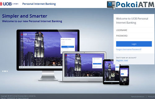 3. Cek Saldo UOB via Personal Internet Banking