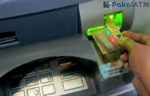 3. Posisi Kartu ATM BCA