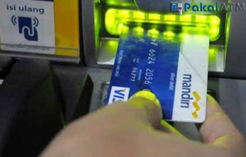 4. Posisi Kartu ATM Mandiri