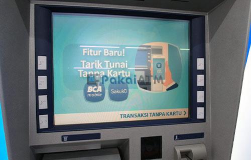 8. Kunjungi ATM Tarik Tunai BCA