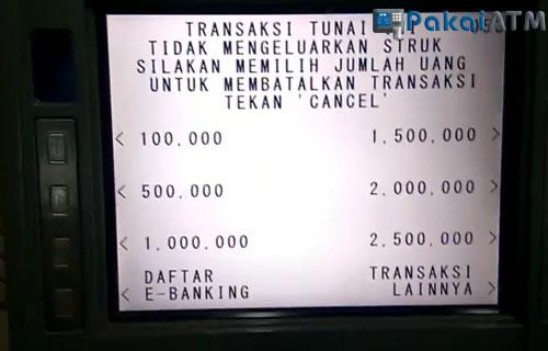 Batas ATM BCA Per Penarikan Uang