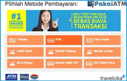 Cara Bayar Traveloka via ATM BCA