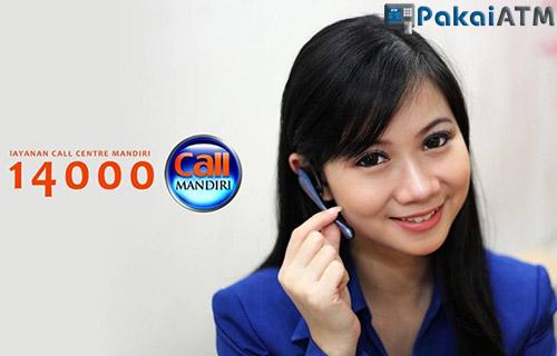 Menghubungi Call Center Mandiri