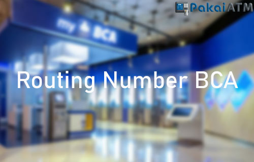 Routing Number BCA
