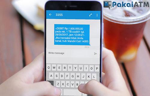 Syarat Bayar Shopee Lewat SMS Banking Mandiri