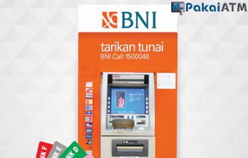2. Bayar SPMB Unsoed Lewat ATM BNI
