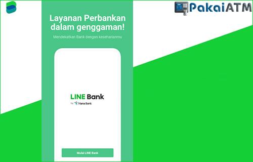 2. Buka Aplikasi LINE Bank