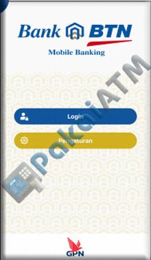 2. login ke mobile banking