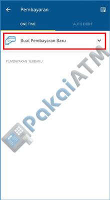 4. Lalu klik opsi Buat Pembayaran Baru