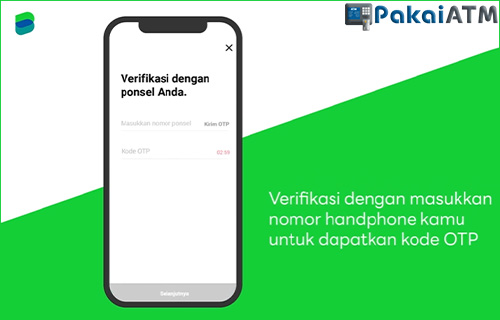 5. Verifikasi dengan Ponsel