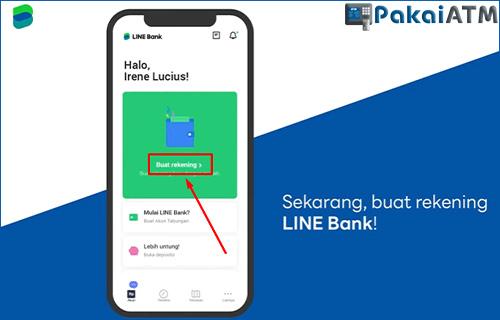 7. Buat Rekening LINE Bank