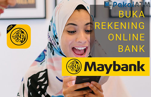 Pembukaan Rekening Maybank Online