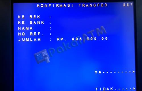 10. Konfirmasi Transfer