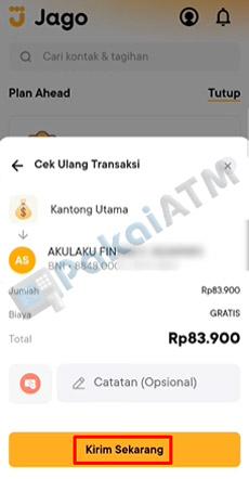13. Cek Ulang Transaksi