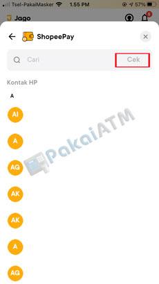 7. Masukkan Nomor HP Terdaftar di Akun ShopeePay