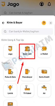9. Tap Bank Lain
