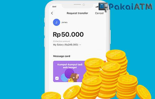 Biaya Top Up LINE Bank via Gopay