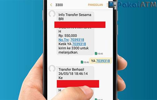 Biaya Transfer Lewat SMS Banking 1