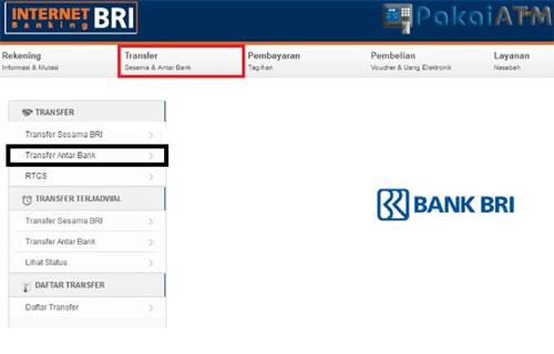 Biaya Transfer Lewat iBanking BRI