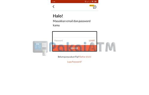Buka Aplikasi Flip