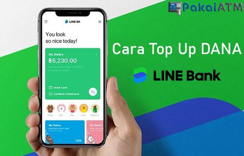 Cara Top Up DANA Lewat LINE Bank