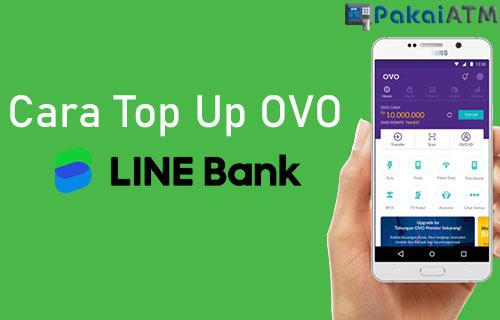 Cara Top Up OVO Lewat LINE Bank