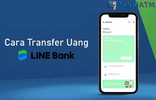 Cara Transfer Uang di LINE Bank Sesama Bank Lain