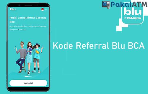 Kode Referral Blu BCA