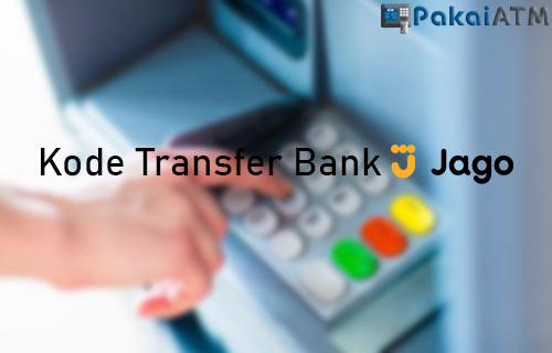 Kode Transfer Bank Jago