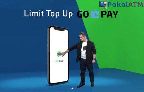 Limit Top Up GoPay Lewat LINE Bank