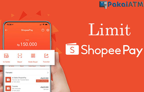 Limit Top Up ShopeePay Lewat Bank Jago