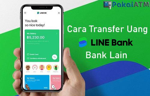 Transfer Uang di LINE Bank ke Bank Lain