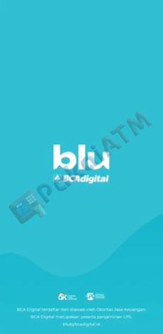 1. Buka Aplikasi Blu BCA